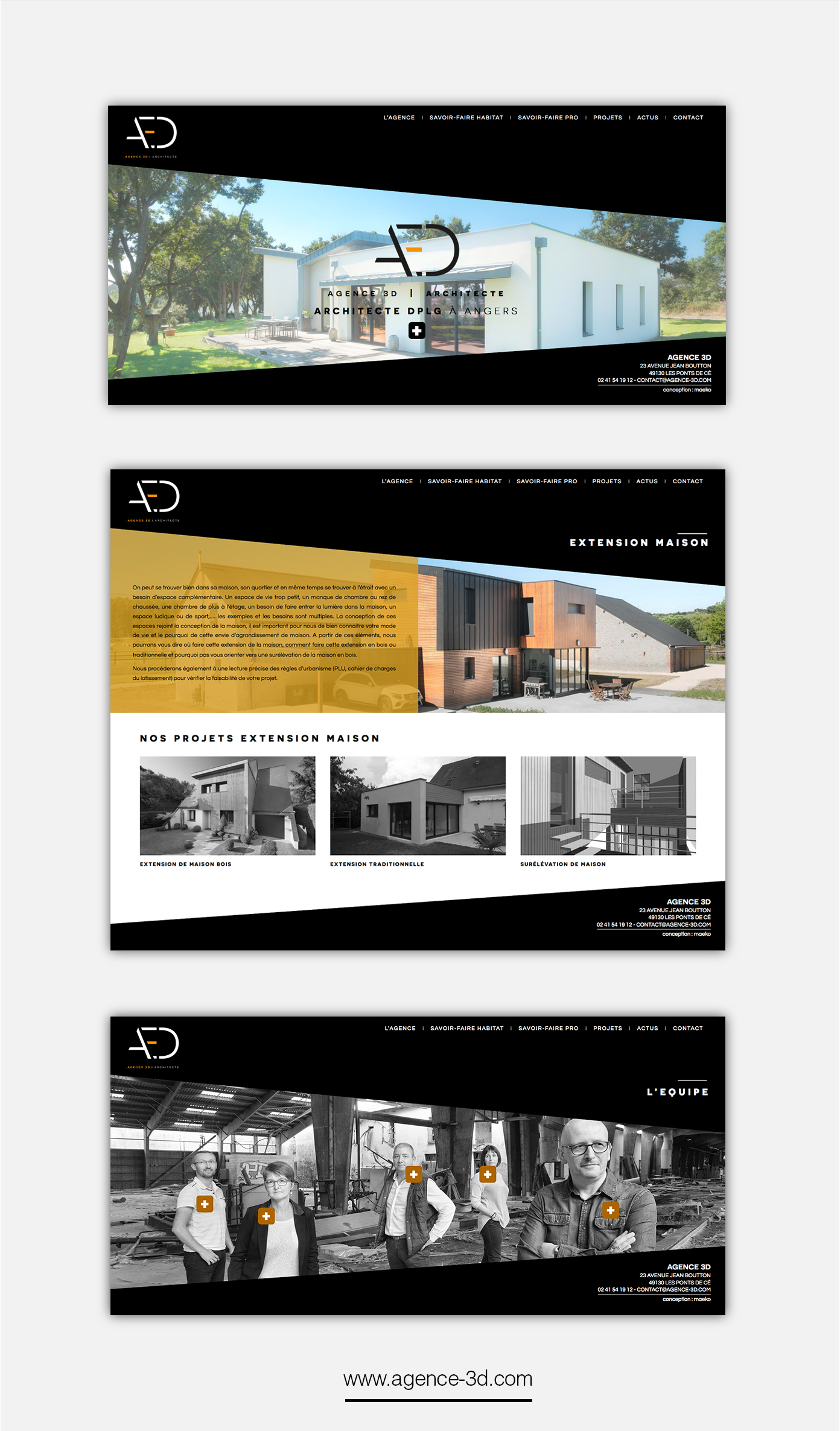 Site Agence 3D